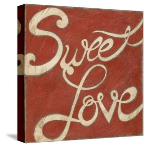 Sweet Love-Chariklia Zarris-Stretched Canvas Print