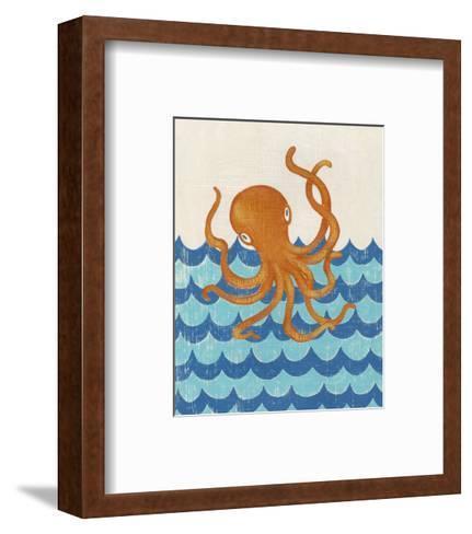 Truman's Voyage II-Chariklia Zarris-Framed Art Print