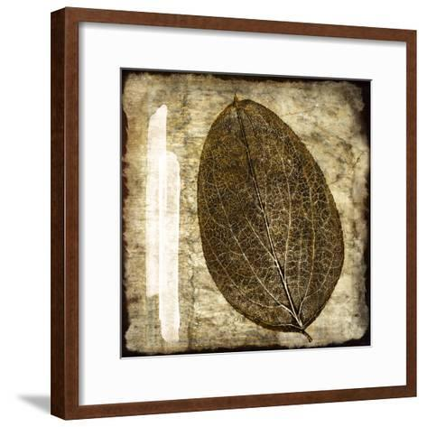 Fall Leaves IV-Christine Zalewski-Framed Art Print