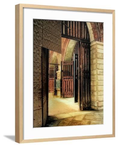 Italian Gateway-Danny Head-Framed Art Print