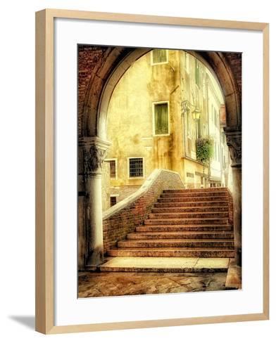 Italian Archway-Danny Head-Framed Art Print