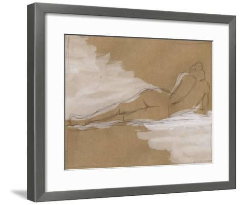 Compositional Figure Study I-Ethan Harper-Framed Art Print