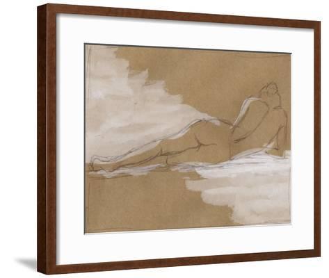 Compositional Figure Study I-Ethan Harper-Framed Art Print