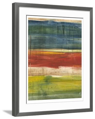 Vibrant Abstract I-Ethan Harper-Framed Art Print