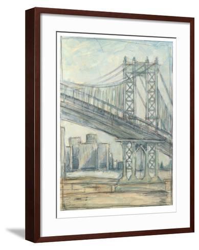 Metropolitan Bridge II-Ethan Harper-Framed Art Print