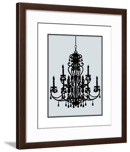Ornate Chandelier IV-Ethan Harper-Framed Art Print