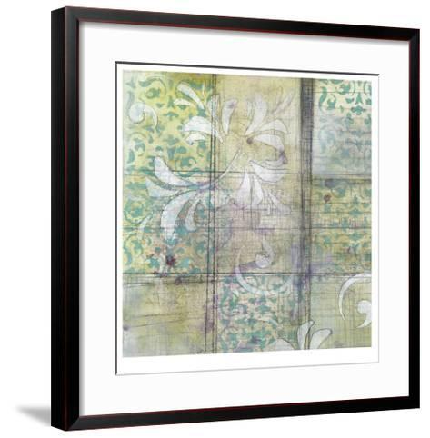 Sketching II-Jennifer Goldberger-Framed Art Print