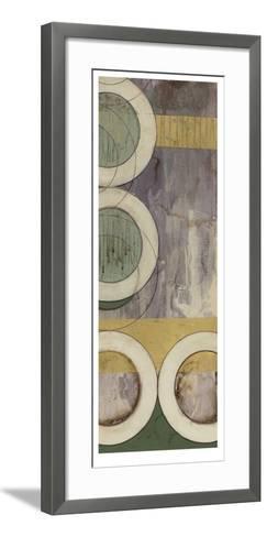 Concentric I-Jennifer Goldberger-Framed Art Print