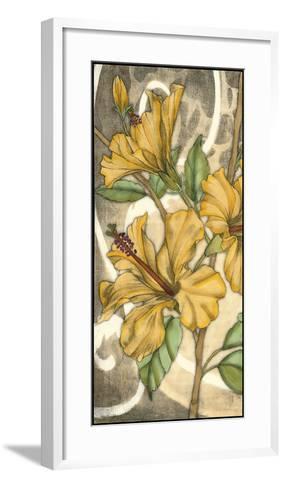 Hibiscus Song I-Jennifer Goldberger-Framed Art Print