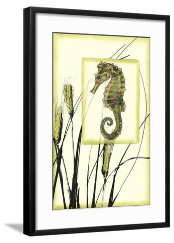 Ocean Silhouette III-Jennifer Goldberger-Framed Art Print