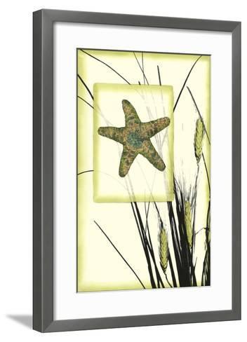 Ocean Silhouette IV-Jennifer Goldberger-Framed Art Print