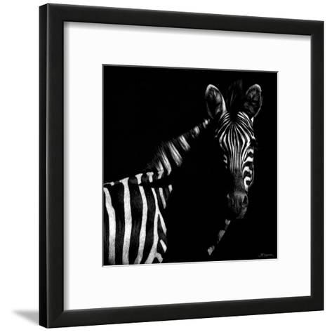 Wildlife Scratchboards IV-Julie Chapman-Framed Art Print