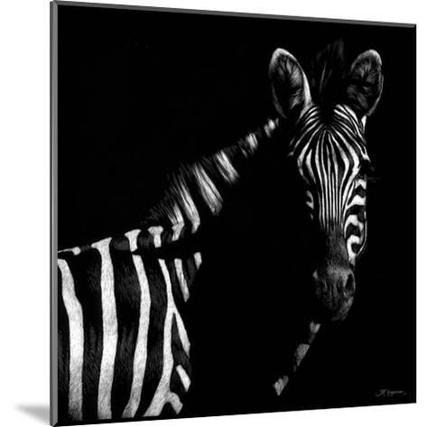 Wildlife Scratchboards IV-Julie Chapman-Mounted Art Print
