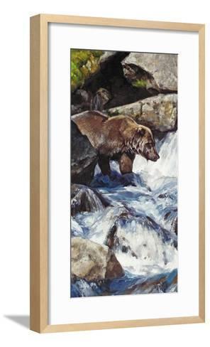 Salmon Zen-Julie Chapman-Framed Art Print