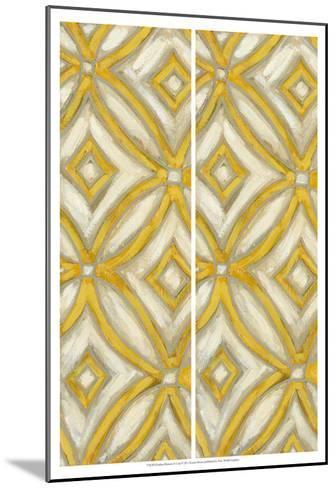2-Up Earthen Patterns II-Karen Deans-Mounted Art Print