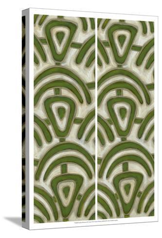 2-Up Earthen Patterns III-Karen Deans-Stretched Canvas Print