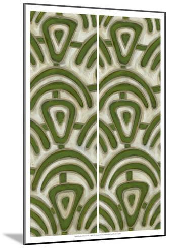 2-Up Earthen Patterns III-Karen Deans-Mounted Art Print