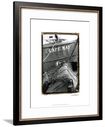 Fishing Trawler- Cape May-Laura Denardo-Framed Art Print