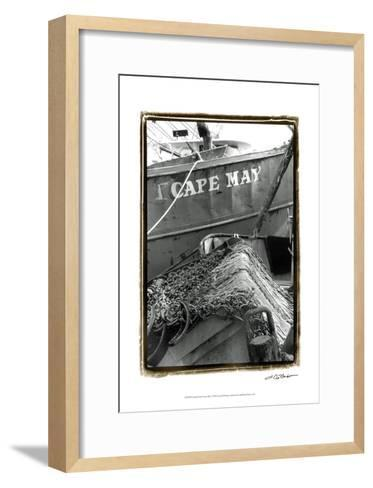 Fishing Trawler- Cape May-Laura Denardo-Framed Art Print