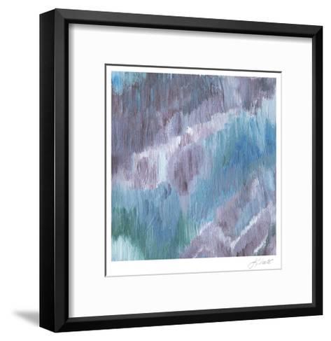Lapis Impressions II-Lisa Choate-Framed Art Print