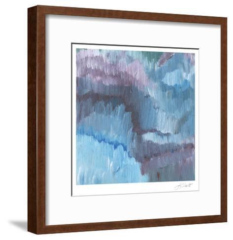 Lapis Impressions III-Lisa Choate-Framed Art Print