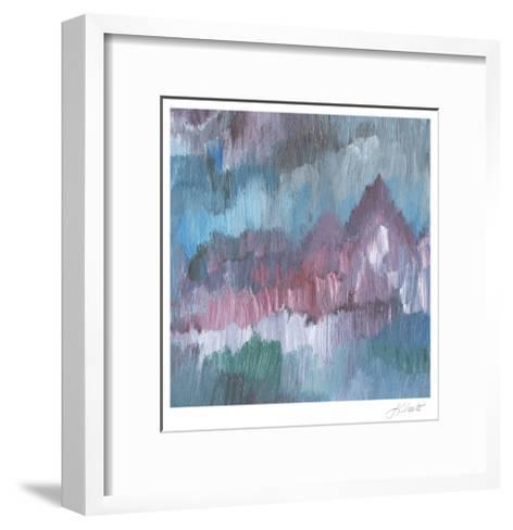 Lapis Impressions IV-Lisa Choate-Framed Art Print
