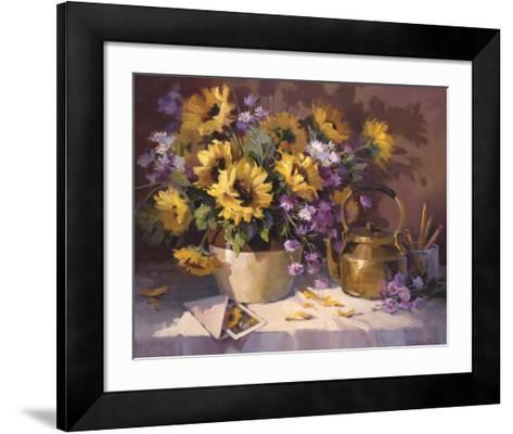 Note to a Friend-Maxine Johnston-Framed Art Print