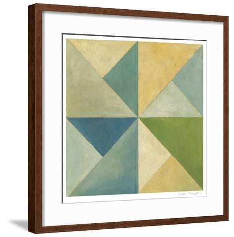 Quilted Abstract I-Megan Meagher-Framed Art Print