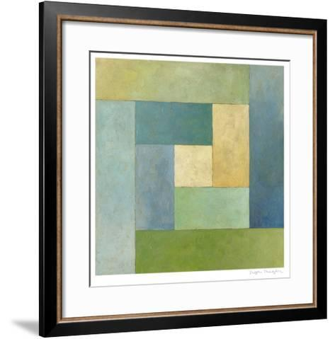 Quilted Abstract II-Megan Meagher-Framed Art Print