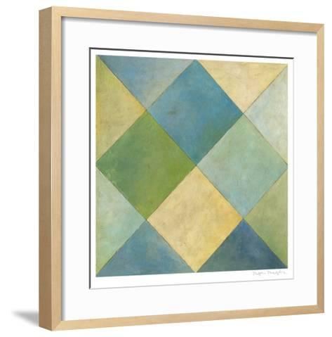 Quilted Abstract III-Megan Meagher-Framed Art Print