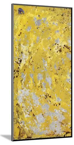 Silvery Yellow I-Natalie Avondet-Mounted Art Print