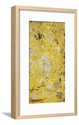 Silvery Yellow II-Natalie Avondet-Framed Art Print