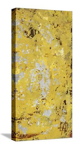 Silvery Yellow II-Natalie Avondet-Stretched Canvas Print