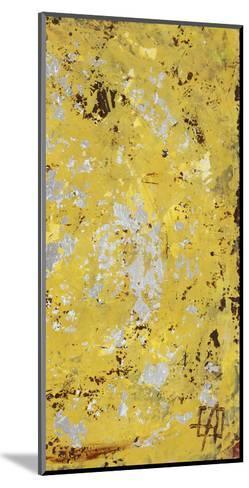 Silvery Yellow II-Natalie Avondet-Mounted Art Print