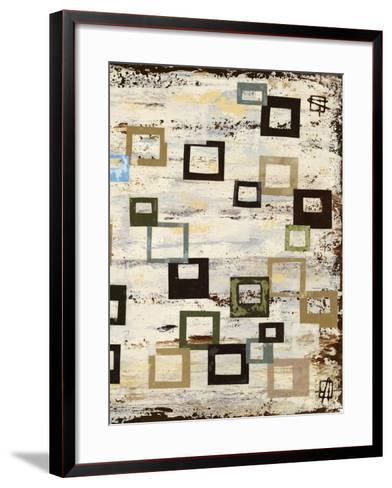 Square RD II-Natalie Avondet-Framed Art Print