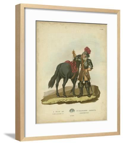 Men in Armour VI-Samuel Rush Meyrick-Framed Art Print