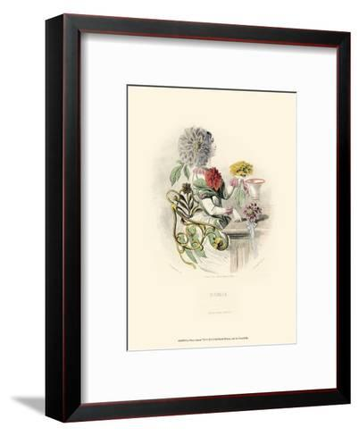 Le Fleur Anim? VII--Framed Art Print