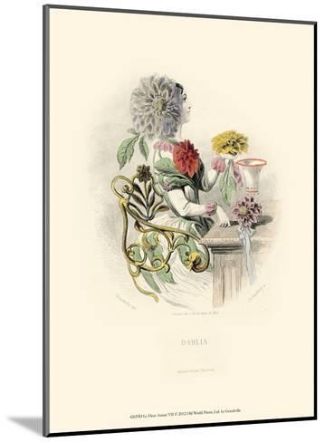 Le Fleur Anim? VII--Mounted Art Print