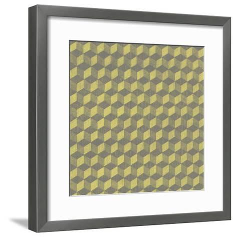 Graphic Pattern V--Framed Art Print