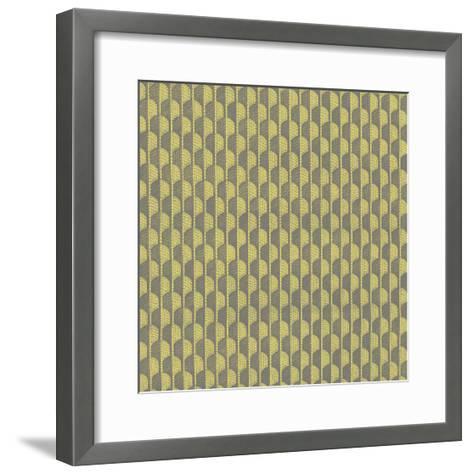 Graphic Pattern VII--Framed Art Print