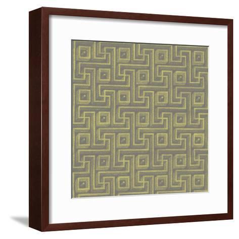 Graphic Pattern VIII--Framed Art Print