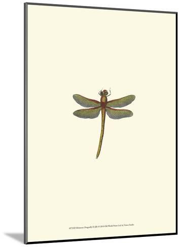 Miniature Dragonfly II--Mounted Art Print