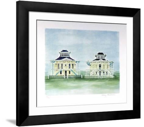 Twin Houses Mississippi-Mary Faulconer-Framed Art Print