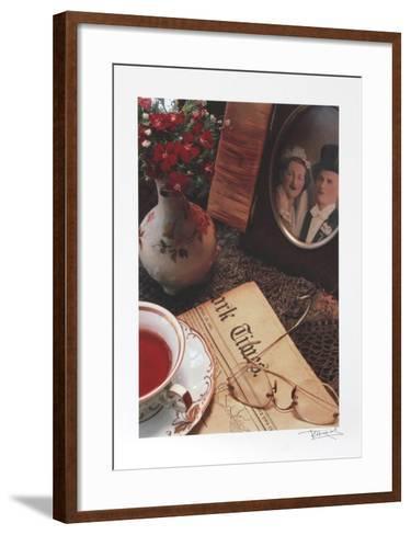 The Times-Harvey Edwards-Framed Art Print