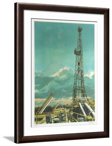 Oil Well-Tom Blackwell-Framed Art Print