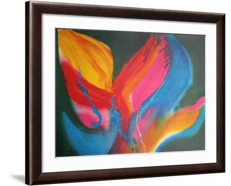 Fire Dancer-Lamar Briggs-Framed Art Print