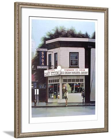 Bridgehampton from the City Scapes Portfolio-Arne Besser-Framed Art Print