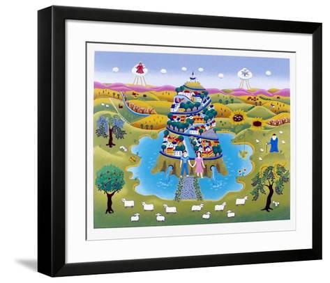 Tower of life-Gisela Fabian-Framed Art Print