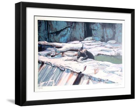 Zoo Bear-Fran Bull-Framed Art Print