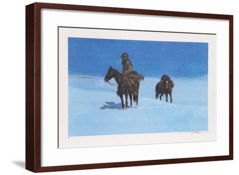 Last Look-Dan Bodelson-Framed Art Print
